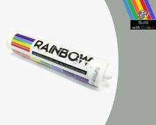 Silver Grey Colour Silicone Sealant Rainbow 310ml RAL 7001 Indoor & Outdoor use