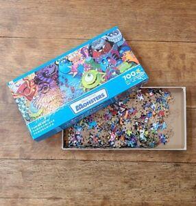 Disney Pixar Monsters Inc 700 Piece Jigsaw Puzzle Panoramic