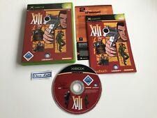 XIII - Microsoft Xbox - PAL GER - Avec Notice