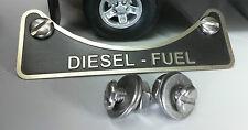 Land Rover Defender Td5 Tdci Tdi Diesel Kraftstoff Einfüllstutzen Warn Emblem