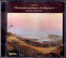 Steven OSBORNE: LISZT Harmonies poétiques et religieuses HYPERION 2CD poetiques