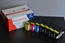 10PK New  For HP 932XL 933XL Ink Cartridge Set 7610 7110 6600 6100 6700  W/Chip