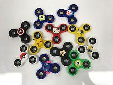 5 LOT Cartoons Spinner Fidget Tri-Spinner Fidget Toy EDC Hand Finger Spinner