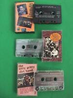 NITTY GRITTY DIRT BAND w/Roger McGuinn / s/t / Workin' Band Cassette Tapes 3 Lot