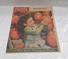 1956 FAMILY WEEKLY NEWSPAPER INSERT MAGAZINE - WACO TRIB - HALLOWEEN FUN