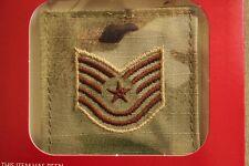 Usaf Us Air Force I/A Multicam Ocp E-6 Hook Back Camouflage Camo Uniform Rank