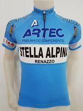 MAGLIA SHIRT CICLISMO STELLA ALPINA TAG.M/3 ITALY CYCLING CYCLES GIRO BICI ES55