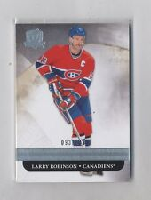 2011-12 Upper Deck The Cup #48 Larry Robinson 93/249 Montreal Canadiens