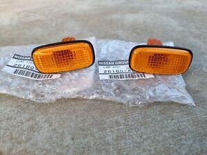 Nissan R33 R34 Skyline GT-R amber side indicator lenses NEW