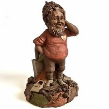 Tom Clark Gnome Locke Item 1087 Edition 63 Date 1985 Cairn Studio Woodspirit