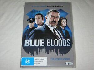 Blue Bloods - Season 2 - 6 Disc Set - VGC - Region 4 - DVD