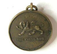 1923 Kings Royal Lancaster Regimentt Depot Tug Of War Medal bronze 32 mm