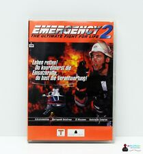 PC Computer Spiel - EMERGENCY 2: THE ULTIMATE FIGHT FOR LIFE - Win 98, 2000, XP