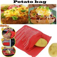 Perfect Potato Microwave Baked Cooking Bag Corn Cooker Express Reusable 4minutes