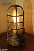 "Vintage Industrial Explosion Proof ""Touch"" Desk Lamp Steampunk Light - Bronze"