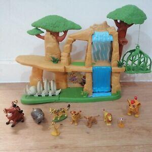 Disney The Lion Guard Defend The Pride Lands Playset 9 Figures Bundle Lion King