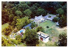 Elvis Presley's Graceland Memphis Tennessee Postcard Aerial View Mansion Pool