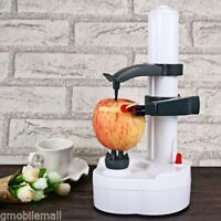 Electric Peeler w/ 2 Spare Blades for Potato Apple Pear Peach Fruit Kitchen