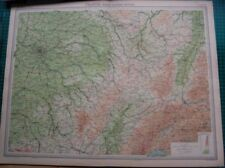 France Lithography Antique Europe Atlas Maps