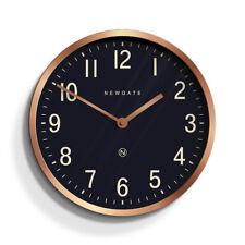 NEWGATE CLOCKS - Master Edwards Copper Small Wall Clock Petrol Blue Dial-RRP £60