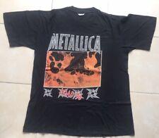 Metallica Load 1996 European Tour Official Vintage Black T-Shirt (L)