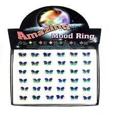 Amazing Mood Butterfly Rings - box x 36