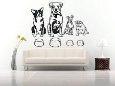 Wall Room Decor Art Vinyl Sticker Mural Decal Types Of Dog Breeds Animal FI114