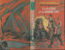 """THREE INVESTIGATORS #10 THE MYSTERY OF THE MOANING CAVE - UK """"TALL"""" HC RARE"""
