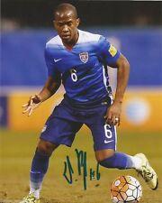 Team Usa Darlington Nagbe Autographed Signed 8x10 Photo Coa A
