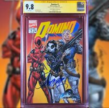 DOMINO #1 VARIANT COVER B CGC 9.8 J SCOTT CAMPBELL DEADPOOL CABLE  MOVIE