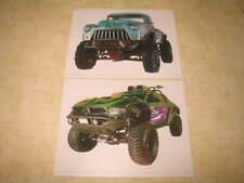 Monster Trucks Movie - Wall Sticker Decals - 2 Pieces - Kids Bedroom Decor - New