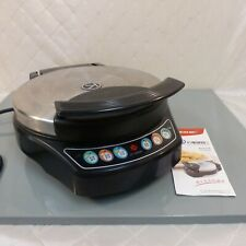 Liven Electric Skillet Pan Flat Griddle Panini Press Cooking Appliance