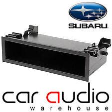 FP-11-01 Subaru Impreza 2001 - 2006 Car Stereo Radio Single Din Fascia Pocket