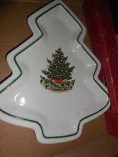 VINTAGE 1994   PFALTZGRAFF CHRISTMAS HERITAGE TREE DISH 1994 NEVER USED IN BOX