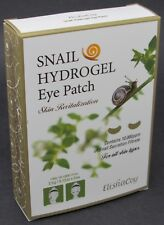 NEW 5-COUNT ElishaCoy Noblesse Naturalism Snail Hydrogel Eye Patch Skin Care +++