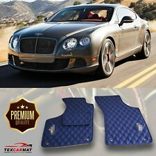 Fully Tailored Leather Car Floor Mats fit Bentley Continental GT II 2012-2018