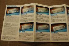 Pioneer SX1250 SPEC1 SPEC2 SA8500 QX949A TX9500 SE405 SE500 Original Catalogue