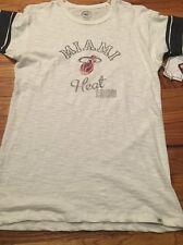 '47 Brand NBA Miami Heat Women's Shirt Game Time Tee Size Large