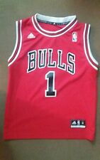 Chicago Bulls Derrick Rose ADIDAS Youth Size Small Number 1 Jersey NBA M 10-12
