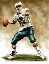 Dan Marino Miami Dolphins 8 X 10 Giclee by James Byrne Series 1