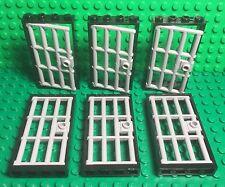 Lego City Town New Bulk Black Garage Door Roller With Handle X4 Parts //pieces