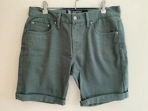 Effekt Green Jean Shorts - Size 32