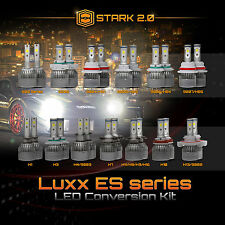 Stark LED 80W 9000LM 3-Sided Conversion Kit 6000K White - Headlight / High / Fog