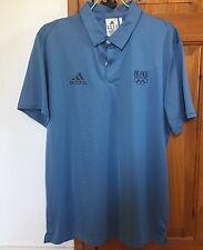 Rarissime polo Adidas équipe de France Jeux Olympique Londres 2012