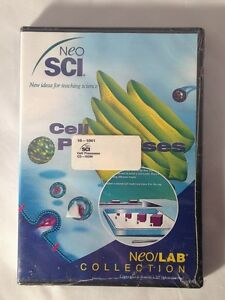 Cell Processes Neo/LAB Software Collection 10-1041 Windows/Mac CD-ROM NEW