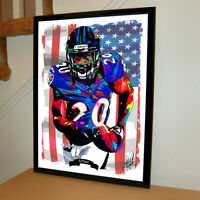 Ed Reed Baltimore Ravens Safety NFL Football Sports Poster Print Wall Art 18x24