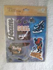 K & Company Hockey Game Sticker Crafts 30-585942 Scrapbook New