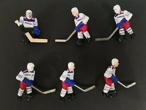Stiga Hockey Players - New York Rangers White Jersey Full Team Set