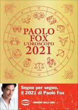 LIBRO L'OROSCOPO 2021 - PAOLO FOX