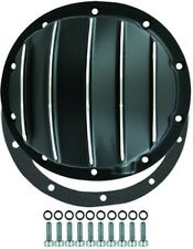 """Chevy Truck / Car 10 Bolt Black Finned Aluminum Differential Cover 8.2"""" 8.5"""""""